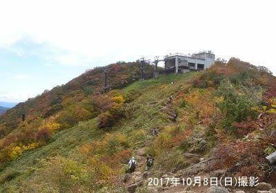 天神峠駅と展望台の様子