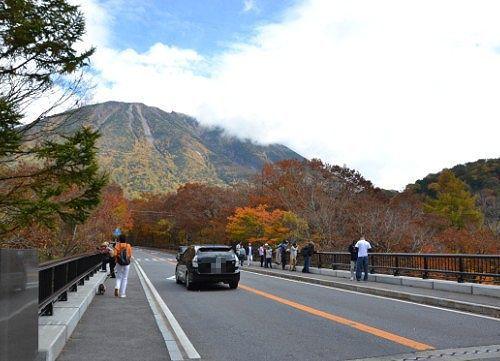 竜頭の滝上の橋