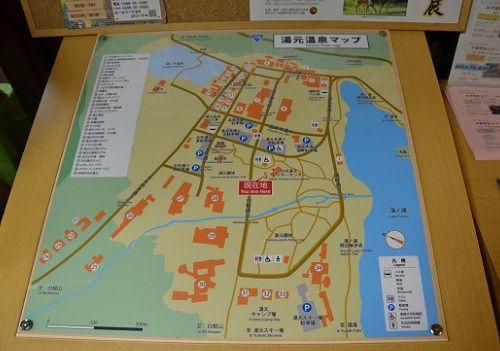 湯元温泉マップ