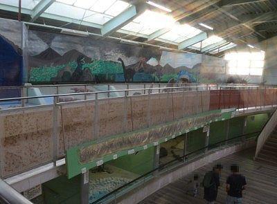 熱帯蛇類温室の中の様子