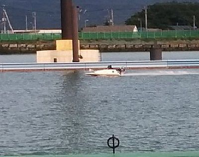 練習してたボート